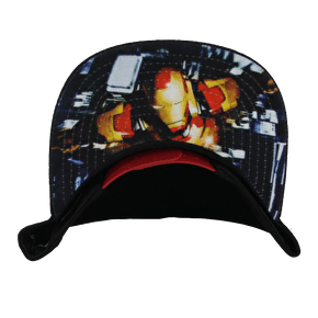 New Era Iron Man Snapback Black