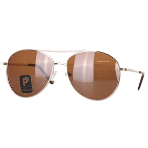 Glassy Sunhaters Daewon Signature - Gold/Tan