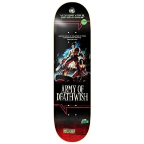 Deathwish VHS Wasteland Skateboard Deck - Lizard King 8.25