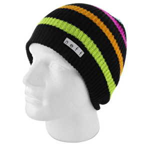 Neff Daily Stripe Beanie - Black / Multi