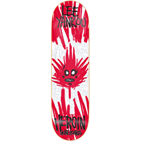 Heroin Skateboard Deck - Lee Yankou Maple Mock 8.25