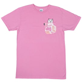 RIPNDIP Lord Nermal Pocket T Shirt - Pink Camo