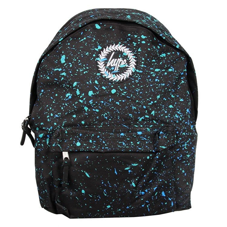 Hype Primary Backpack - Black/Cyan/Mint