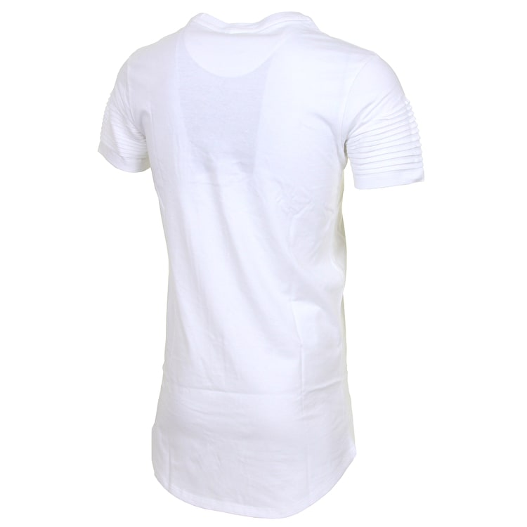 Hype Biker T-Shirt - White