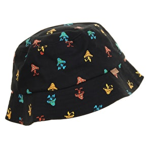 Organika Fun Guy Bucket Hat - Black