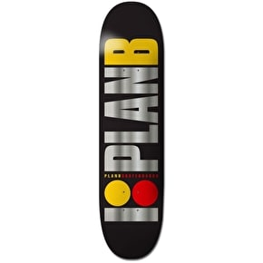 Plan B Skateboard Deck - Team OG BLK ICE 7.75