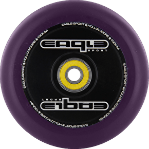 Eagle Hollow Tech Signature Core Purple PU Wheel - 100mm