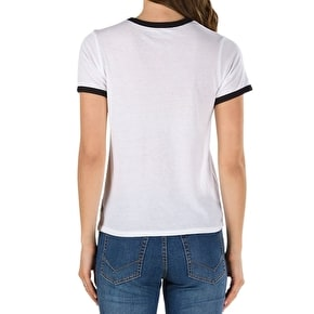 Vans V Tangler Womens T-Shirt - White/Black