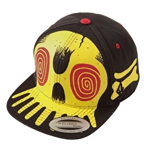 Volcom Savage Kids Snapback Cap - Black