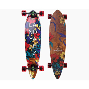Landyachtz Maple Chief Floral Complete Longboard - 36
