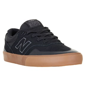 New Balance Arto 358 Skate Shoes - Black/Gum