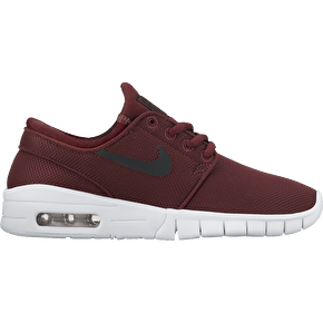 Nike SB Stefan Janoski Max Kids Shoes - Dark Team Red/White
