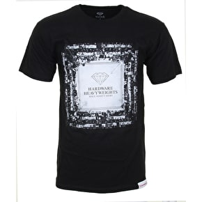 Diamond Boxing Ring T-Shirt - Black