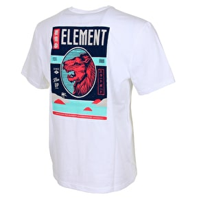 Element Kaze T-Shirt - Optic White