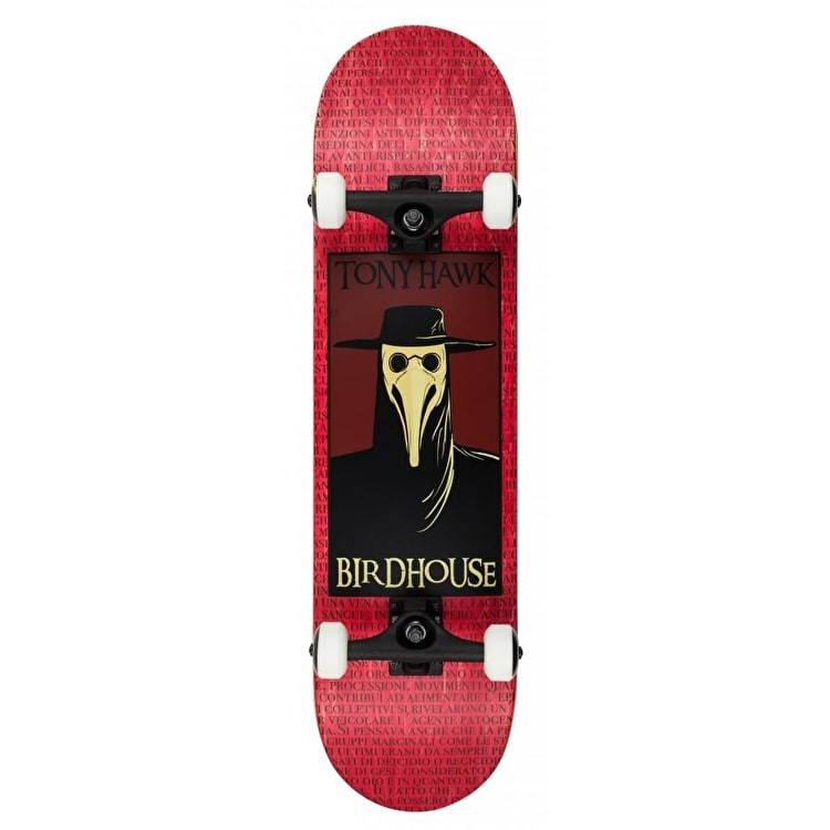 Birdhouse Plague Doctor Skateboard - 8""