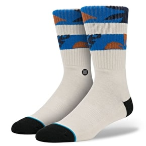 Stance Keenan Socks - White