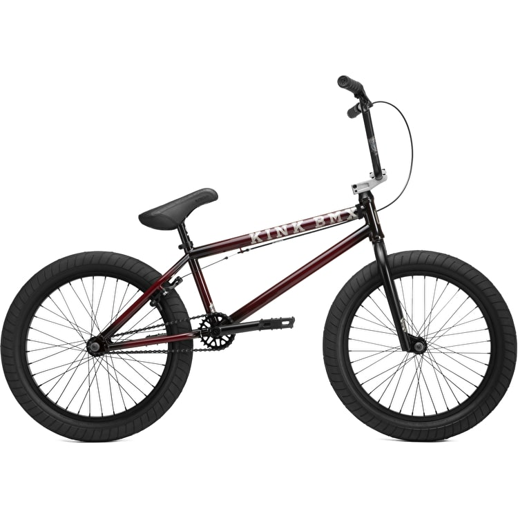 Kink 2019 Gap Complete BMX - Gloss Trans Black Cherry Friction Fade