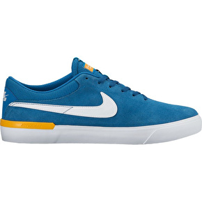 Nike SB Koston Hypervulc Skate Shoes - Industrial Blue/White