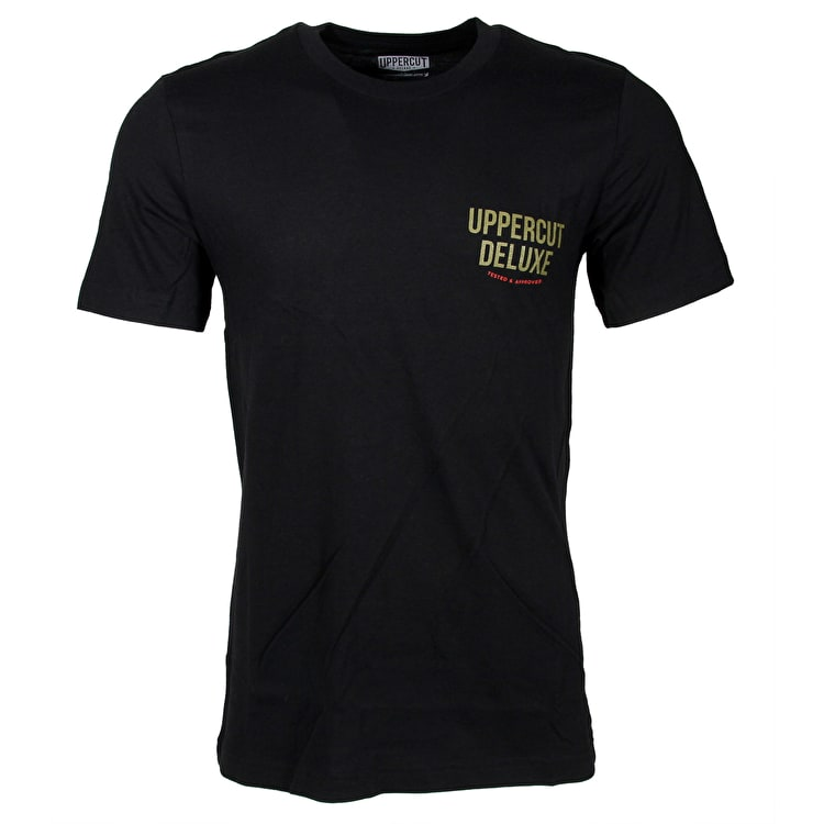 Uppercut Deluxe Chairman T-Shirt - Black/Red Print