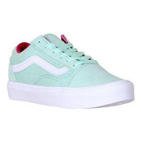 Vans Old Skool Lite Kids Shoes - (Pop) Bay/True White