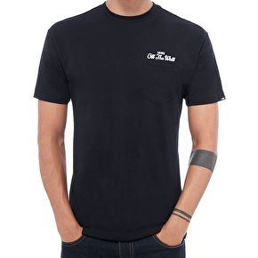 Vans Original Lockup Pocket T-Shirt - Navy