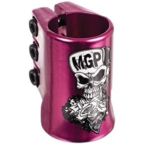 MGP Oversized Madd Hatter Triple Collar Clamp - Purple