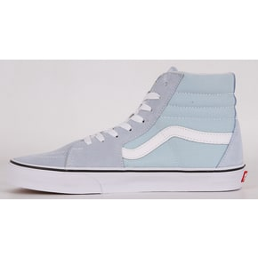 Vans Sk8-Hi Skate Shoes - Baby Blue/True White