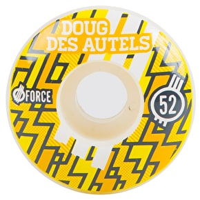 Force Lightning Skateboard Wheels - Des Autels Pro (Pack of 4)