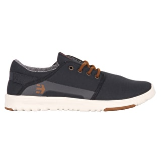 Etnies Scout Skate Shoes - Navy/Gold