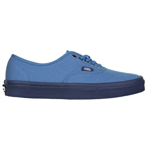 Vans Authentic Skate Shoes - (C&D) Blue Ashes/Parisian Night