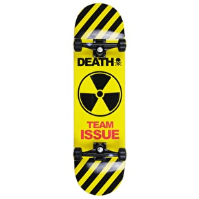Death Team Issue Yellow Custom Skateboard 8.5