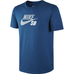 Nike SB Dri-FIT Icon Logo T-Shirt - Blue Force/Blue Graphite