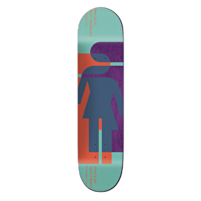 Girl Hardcourt Skateboard Deck - Carroll 8