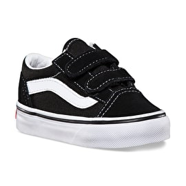 Vans Old Skool V Toddler Skate Shoes - Black