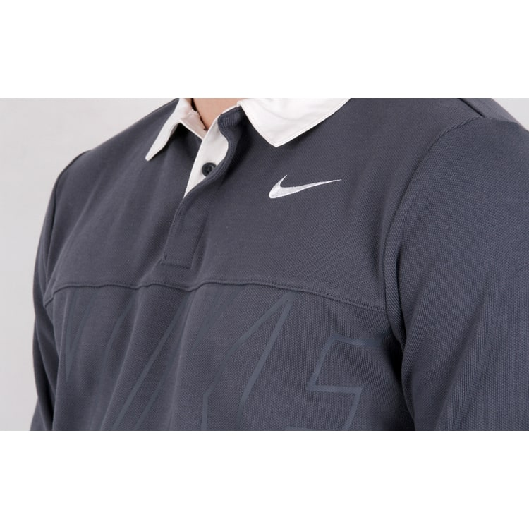 Nike SB Dry Blend Rugby T shirt - Thunder Blue/White