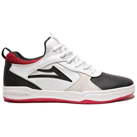 Lakai Proto Skate Shoes - White/Black