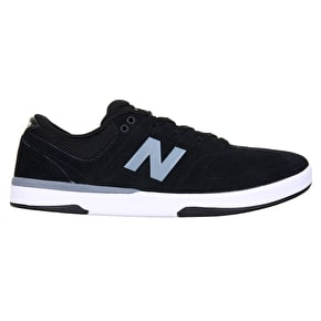 New Balance PJ Stratford Skate Shoes - Black/Grey/White