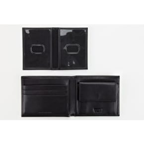 Levi's Inlay Bifold Clean Finish Wallet - Black