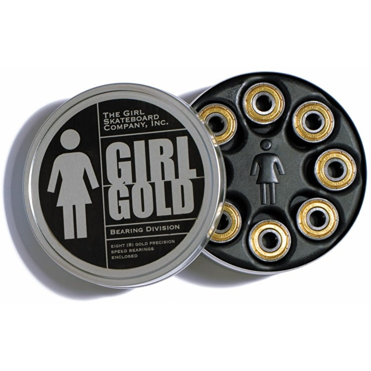 Girl - Gold Precision Bearings (Pack of 8)