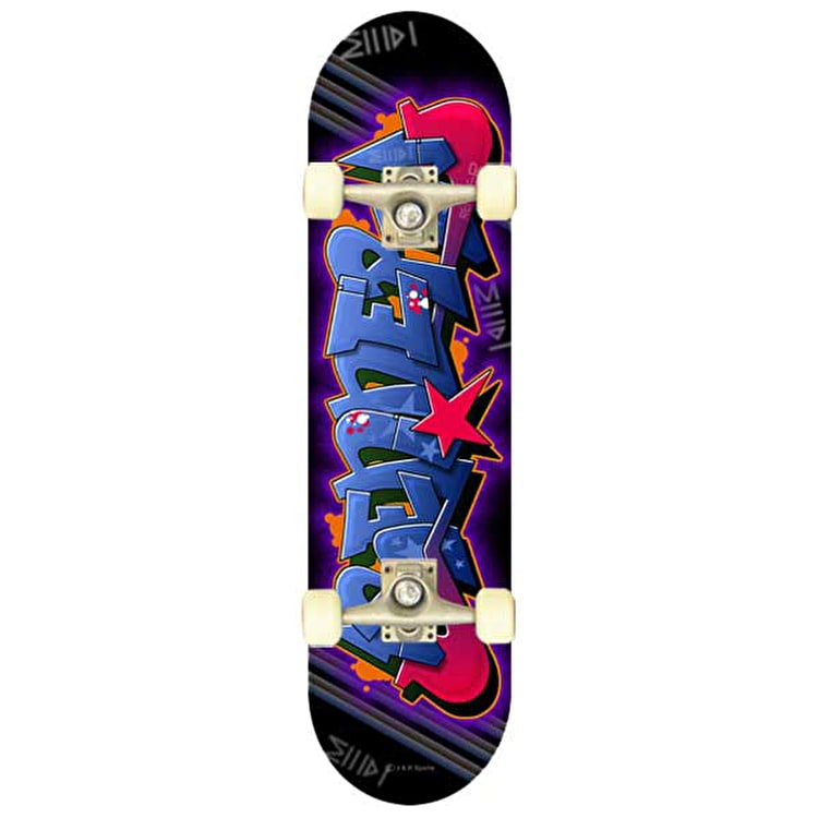 Renner A Series Blue Graffiti Complete Skateboard
