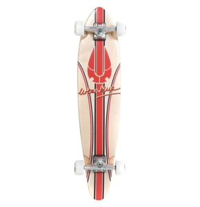 Urban Blue 103 Complete Longboard - Red Signature 38