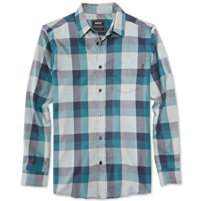 Wesc Darcy Mens Shirt - Blue Steel