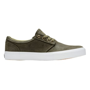 State Elgin x Jordan Sanchez Skate Shoes - Dark Olive (Vic's Market)