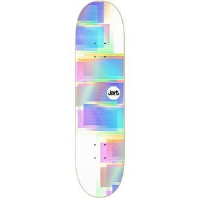 Jart VHS Skateboard Deck - White 8.125