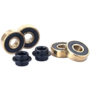 Sacrifice Roller Coaster Abec 9 Bearings - Gold/Black (Pack of 4)