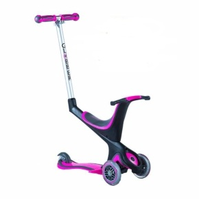 Globber 5-In-1 Scooter - Pink