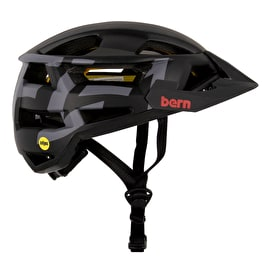 Bern FL-1 XC - MIPS Helmet With Visor - Matt Black