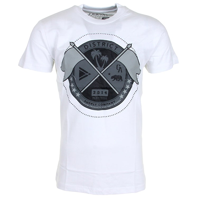 District Supply Co. Seal T-Shirt - White