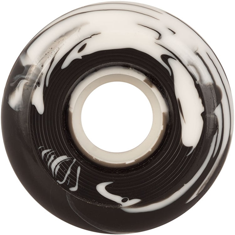 Ricta Clouds Swirl 78a Skateboard Wheels - Black/White 56mm