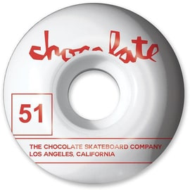 Chocolate Team 99a Skateboard Wheels - 51mm (Pack of 4)